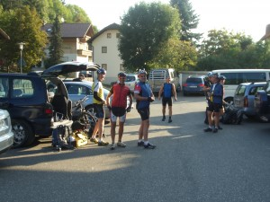 Start in die Dolomiten